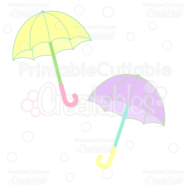 650x650 Rainy Day Umbrellas Free Clipart Amp Free Svg Cut Files
