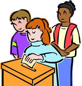 284x298 Person Voting Clipart