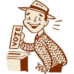 250x250 Animated Voting Clipart