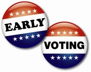 300x235 Early Voting Clipart
