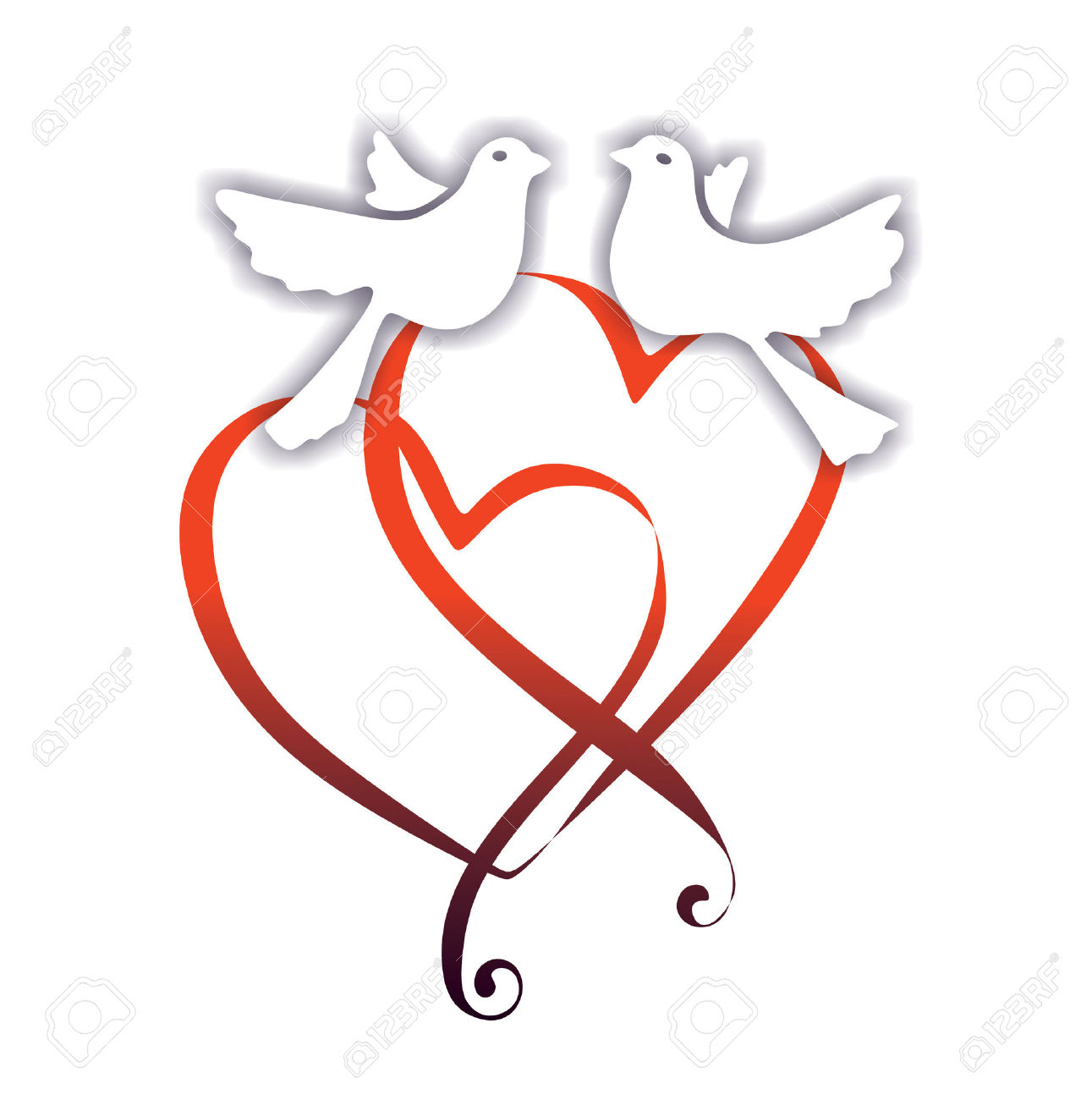 1291x1300 Dove Clipart Wedding Decoration