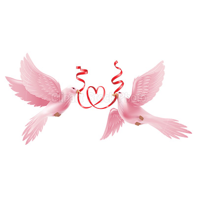 400x400 Free Clipart Doves Wedding