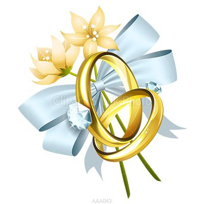 400x400 Bell Clipart Wedding Ring