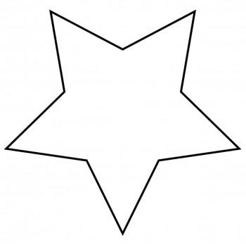350x348 Stars Clipart Black And White