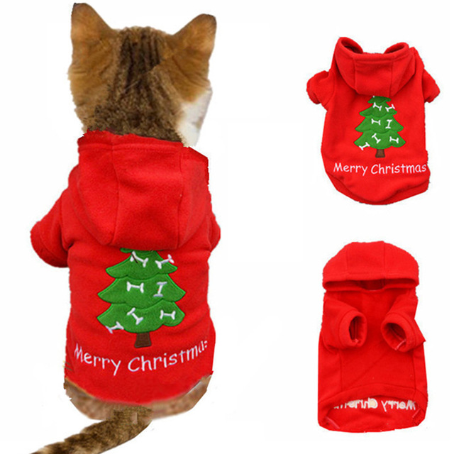 640x640 Christmas Cat Clothes For Cat Costume Clothes For Small Cats Pet