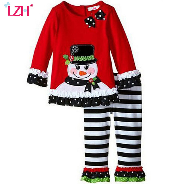 640x640 Lzh Baby Girls Christmas Outfits 2017 Autumn Winter Girls Clothes