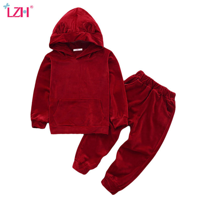 640x640 Lzh Children Clothes 2017 Autumn Winter Kids Girls Clothes Set