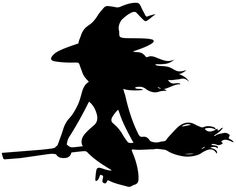 236x191 Scary Witches On Broomsticks Black And White Image Of Scary
