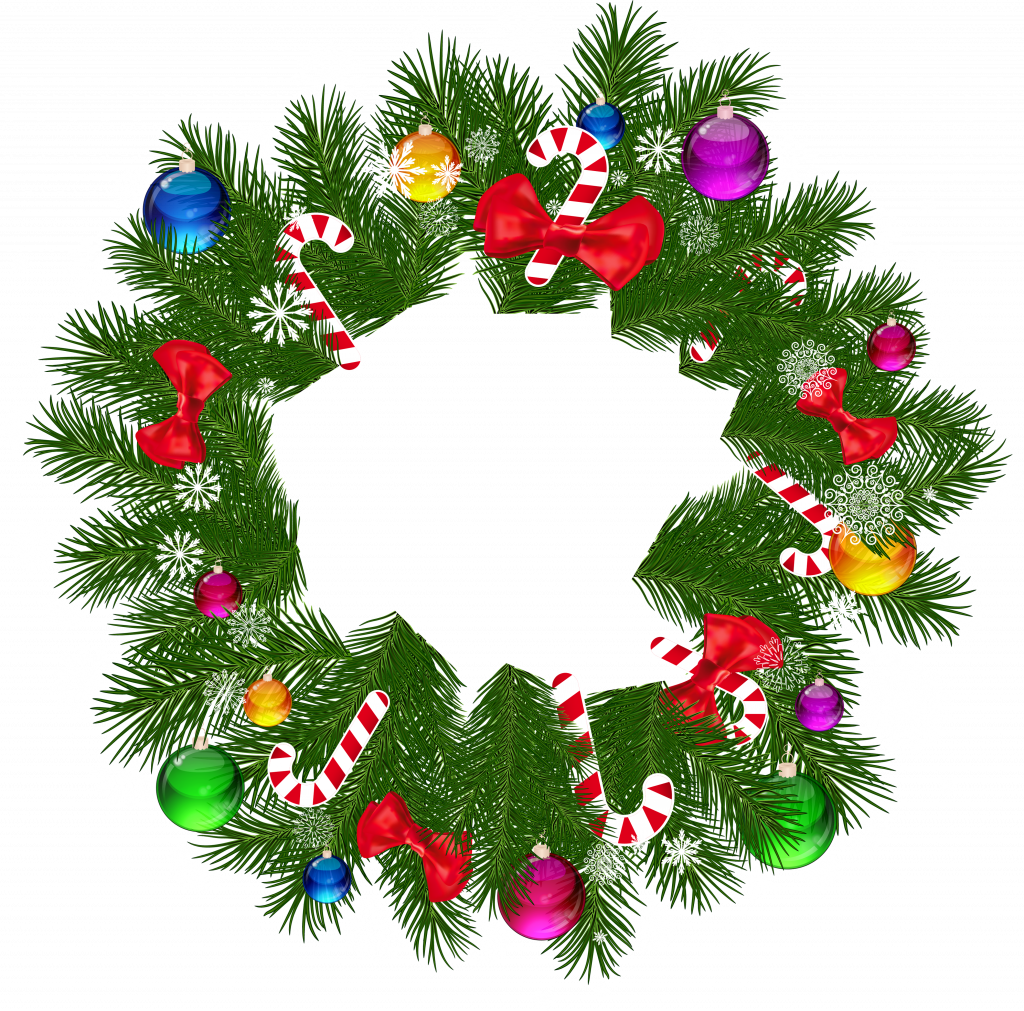 1024x1011 Christmas ~ Freestmas Wreath Clipart The Cliparts Artificial Horse