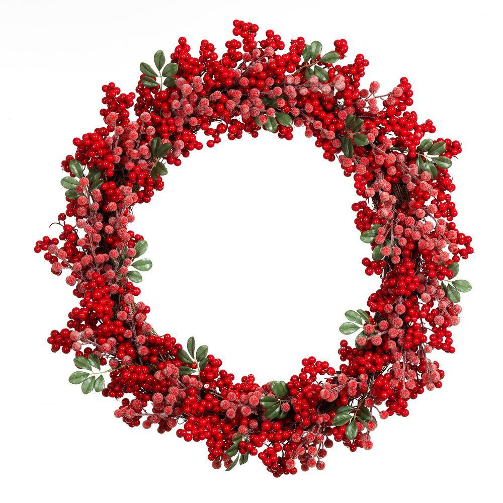 1000x1000 Home Accents Holiday 28 In. Artificial Christmas Grapevine Wreath