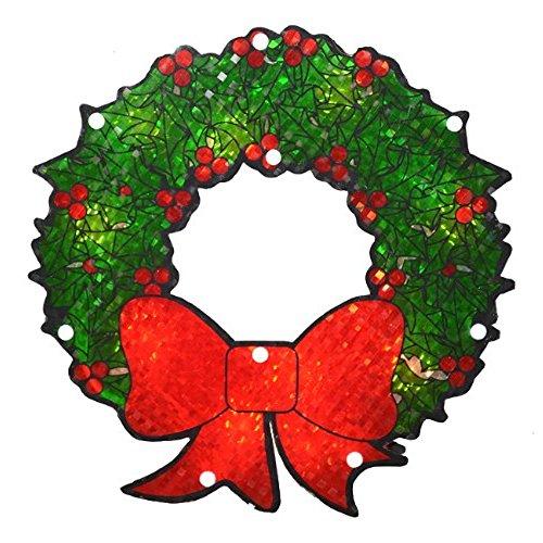 500x500 Lighted Christmas Wreaths