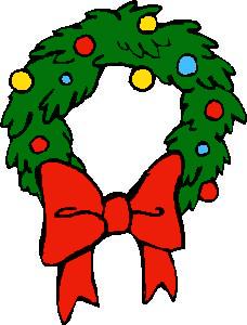 228x300 Wreaths Clip Art Download