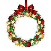 170x170 Wreaths Clipart And Illustration. 2,234 Wreaths Clip Art Vector