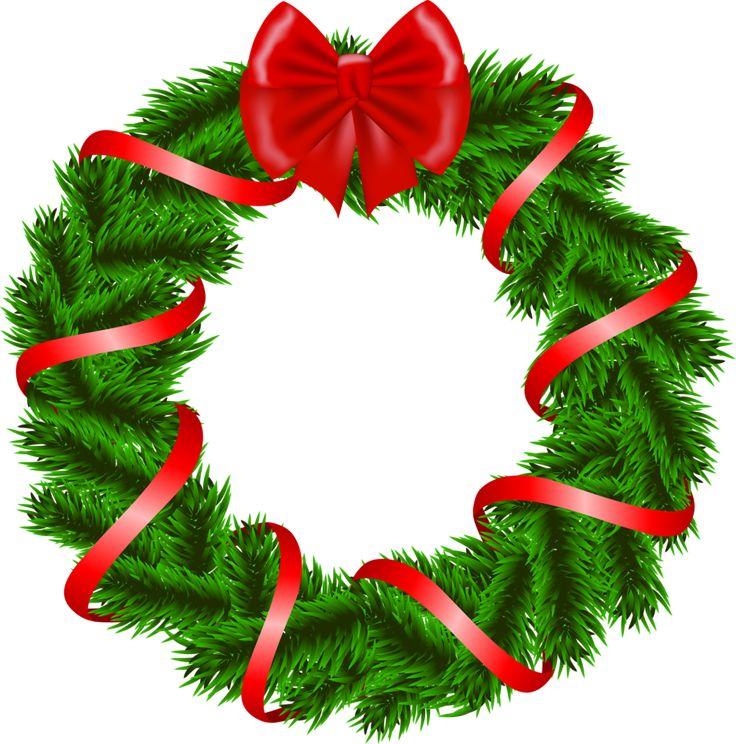 736x744 64 Best Clipart Christmas Flowers, Mistletoe, Wreaths Images