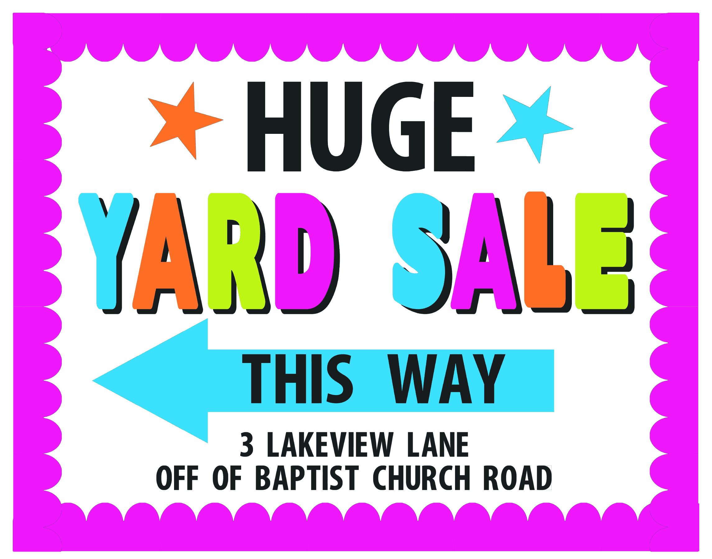 2291x1800 Huge Yard Sale! Artskills Yard Sale, Fundraising