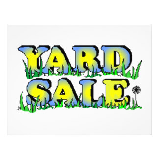 324x324 Yard Sales Flyers Amp Programs Zazzle