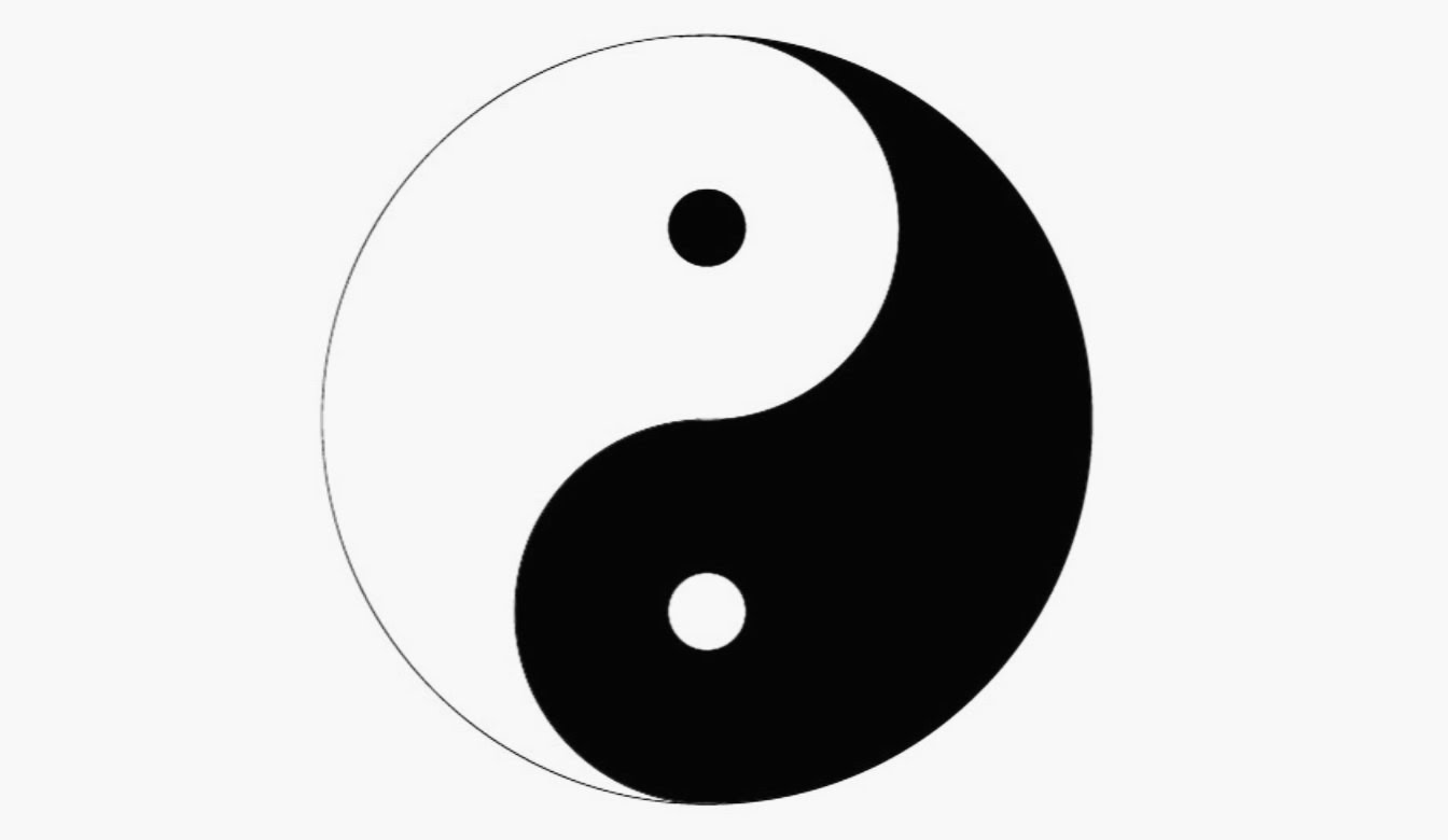 1344x780 How To Draw A Yin Yang Symbol In Adobe Illustrator