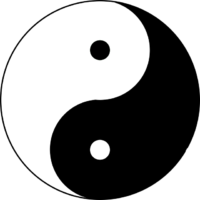 200x200 Yin Amp Yang Symbol Between Heaven And Earth