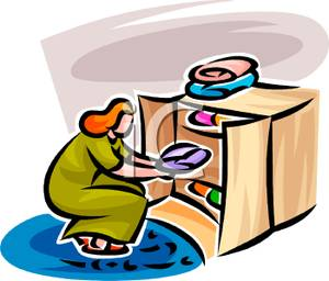 300x256 Clothes Dresser Clipart