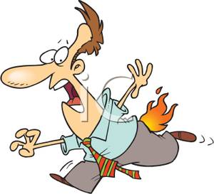 300x273 Clothes On Fire Clipart