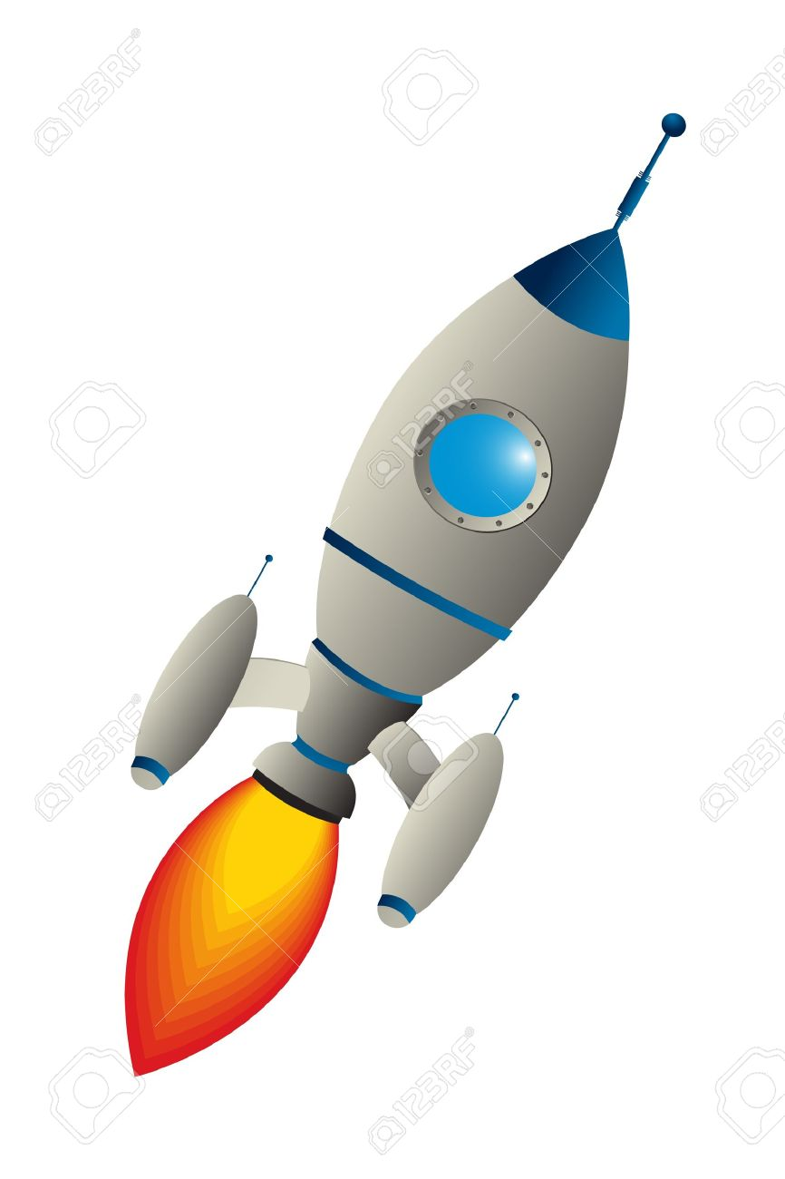866x1300 Spaceship Stabilizer Clipart Free Clipart Images
