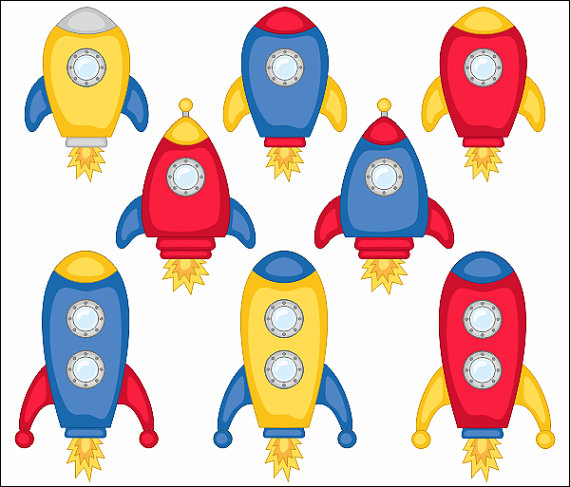 570x487 Cute Spaceships Clip Art, Rocket Clipart, Vehicle, Outer Space