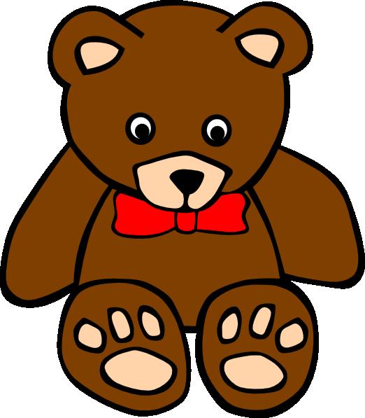 522x597 Free Teddy Bear Clip Art
