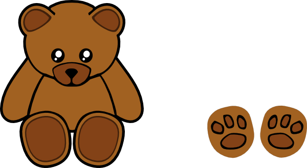600x329 Stuffed Teddy Bear Clip Art