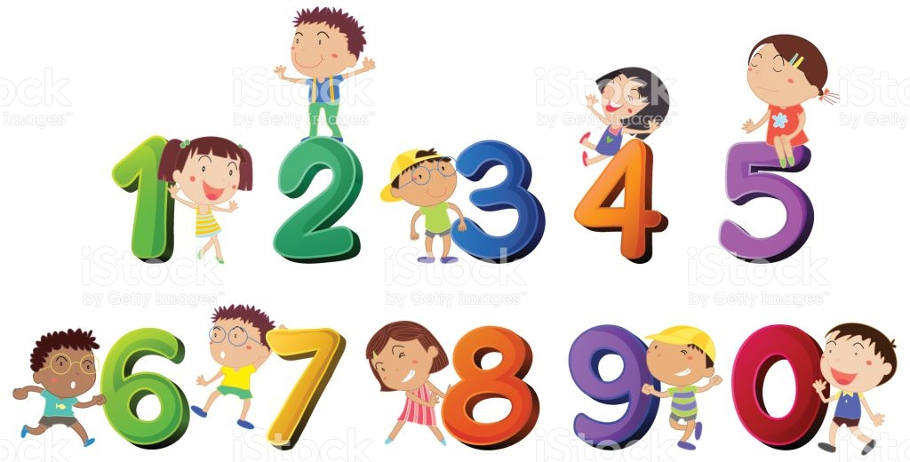 1024x520 Counting Numbers Clipart