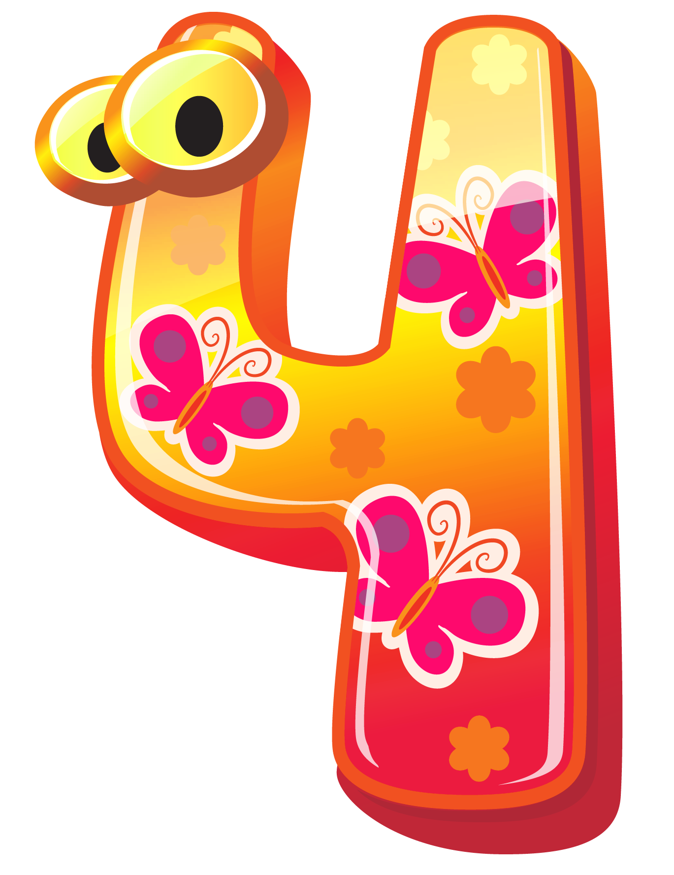 1369x1776 Cute Number Four Png Clipart Imageu200b Gallery Yopriceville