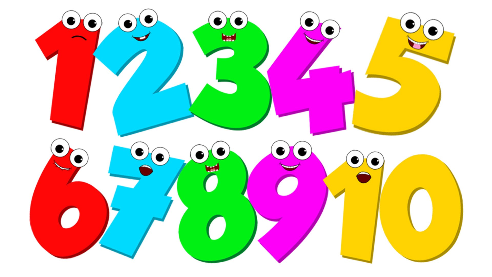 1920x1080 Number Song Number Counting 1 To 10 Video For Children By Kids