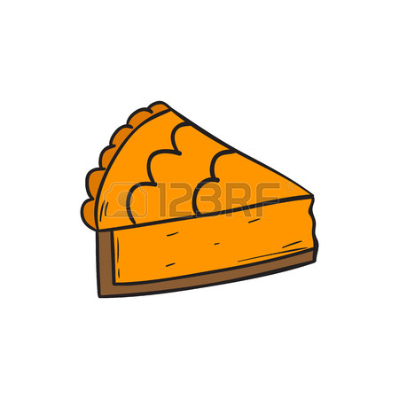 450x450 393 Pumpkin Pie Slice Stock Illustrations, Cliparts And Royalty