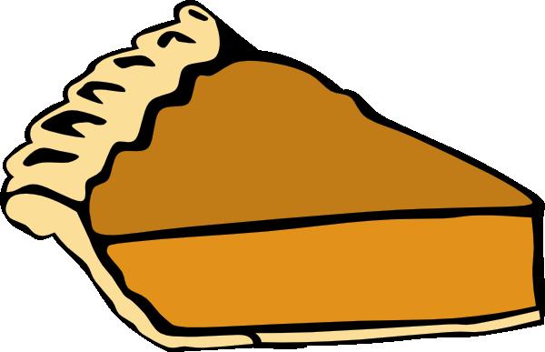600x387 Pumpkin Pie Clip Art