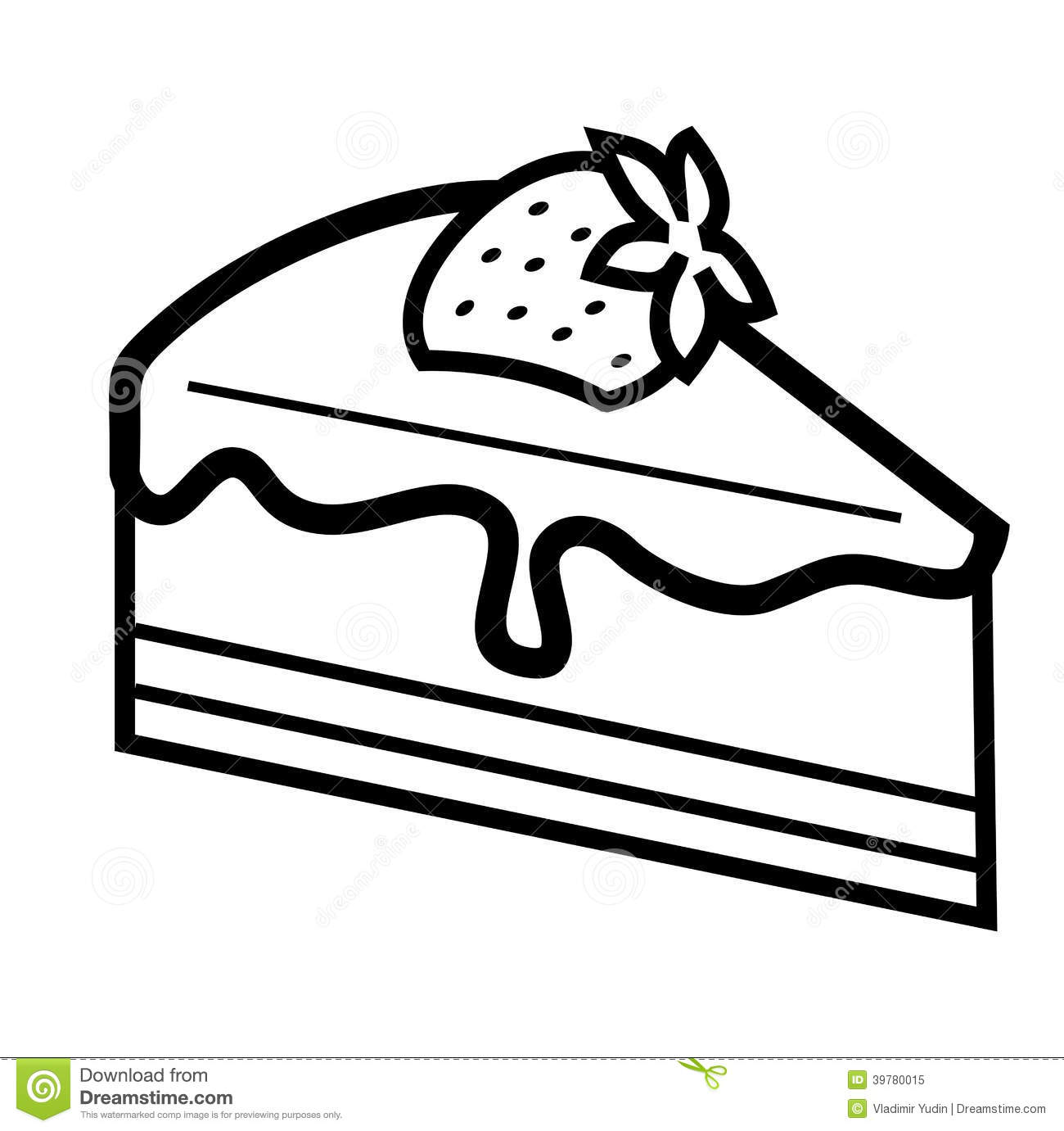 1300x1381 Slice Of Cake Clipart Black And White