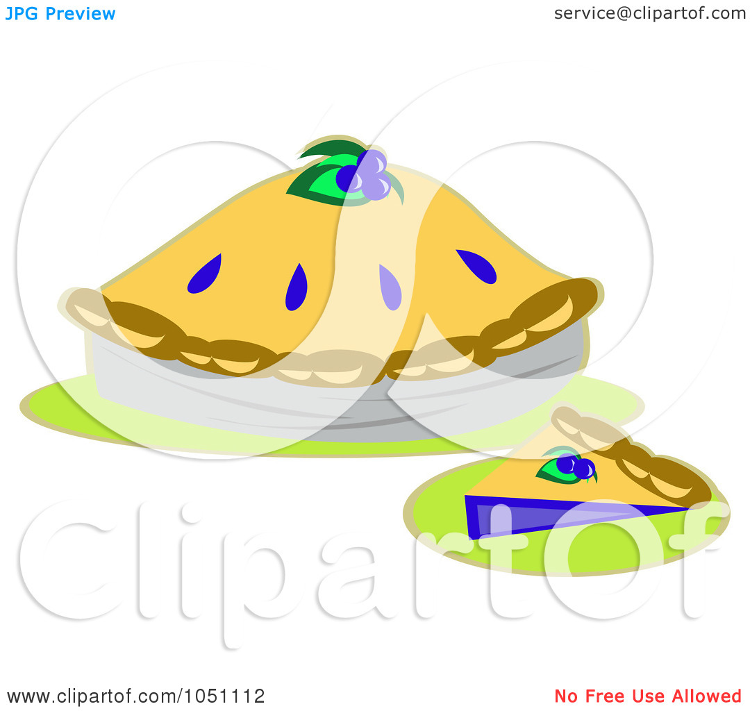 1080x1024 Blueberry Pie Cute Clipart