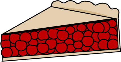 426x220 Cherry Pie Clip Art