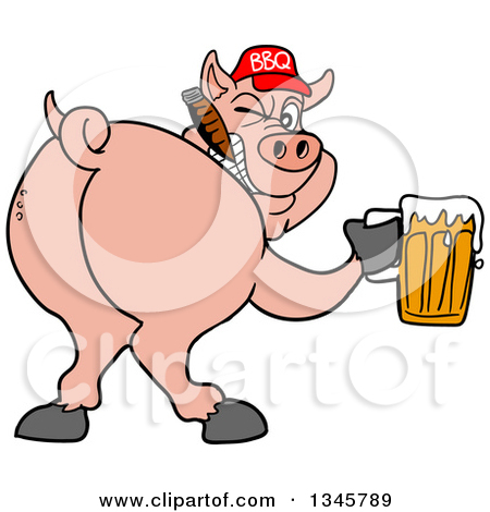 450x470 Graphics For Bbq Pigs Clip Art Graphics