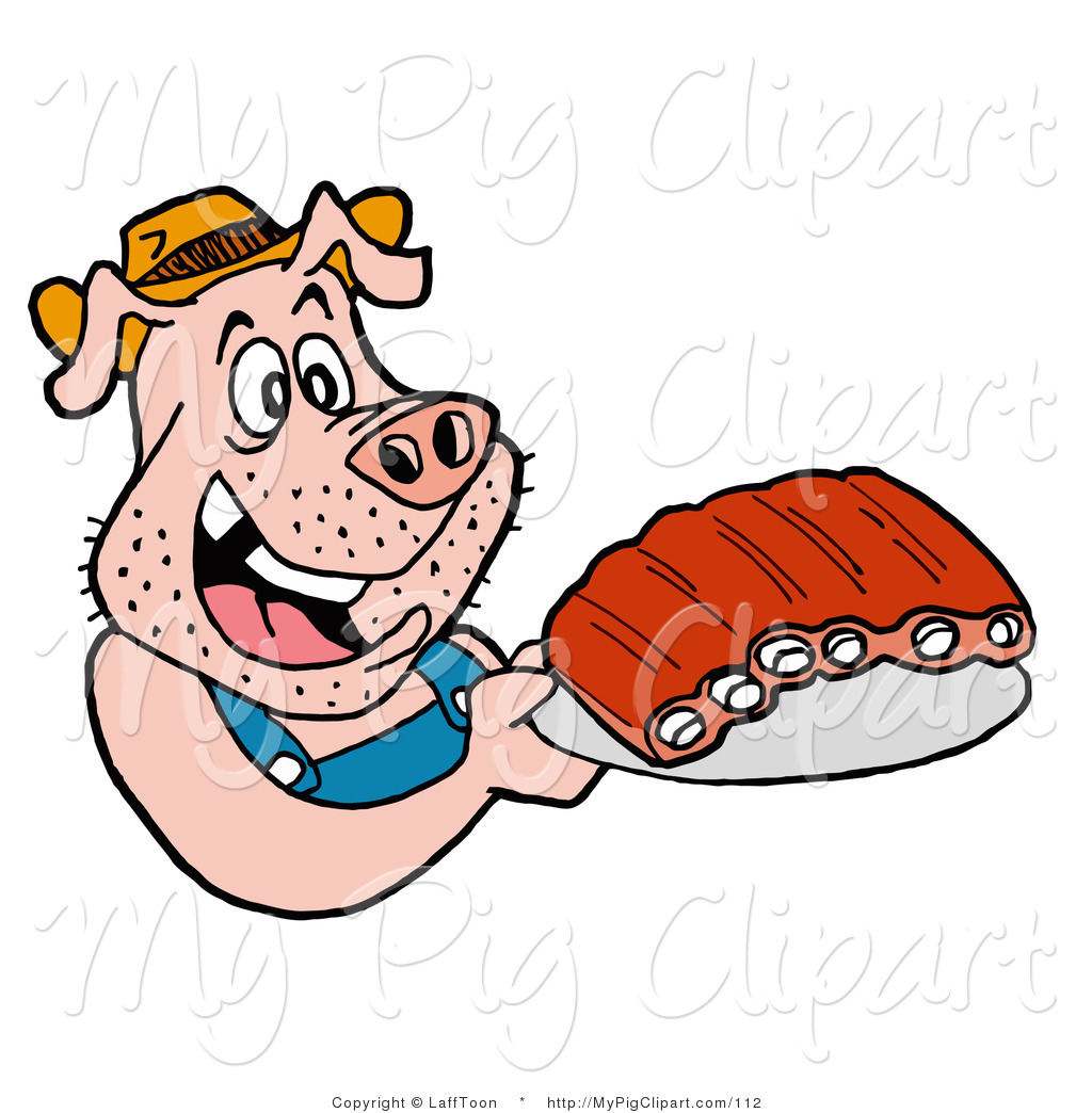 1024x1044 Royalty Free Stock Pig Designs Of Bbq Ribs