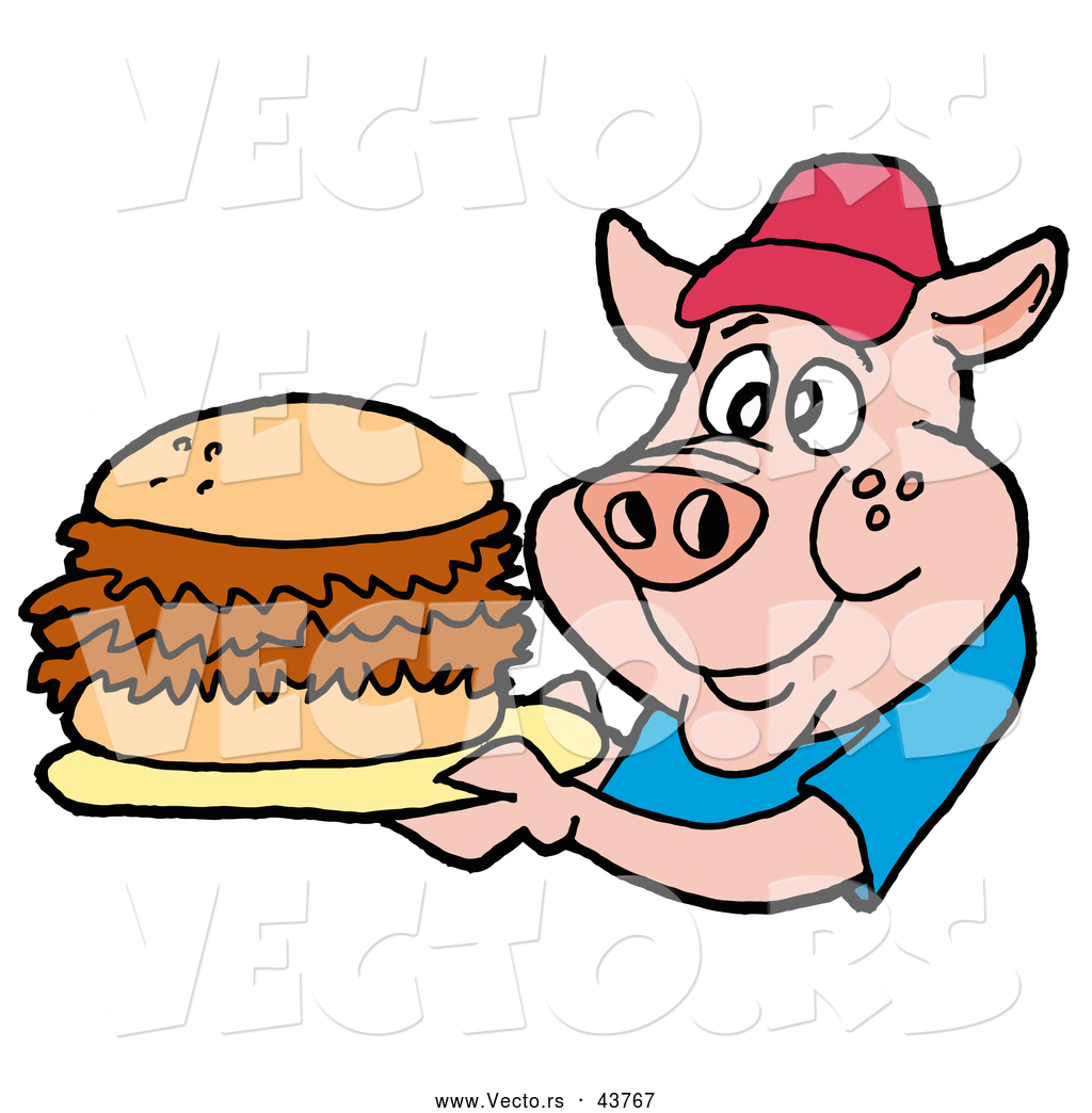 pig bbq cartoon free download best pig bbq cartoon on clipartmag com