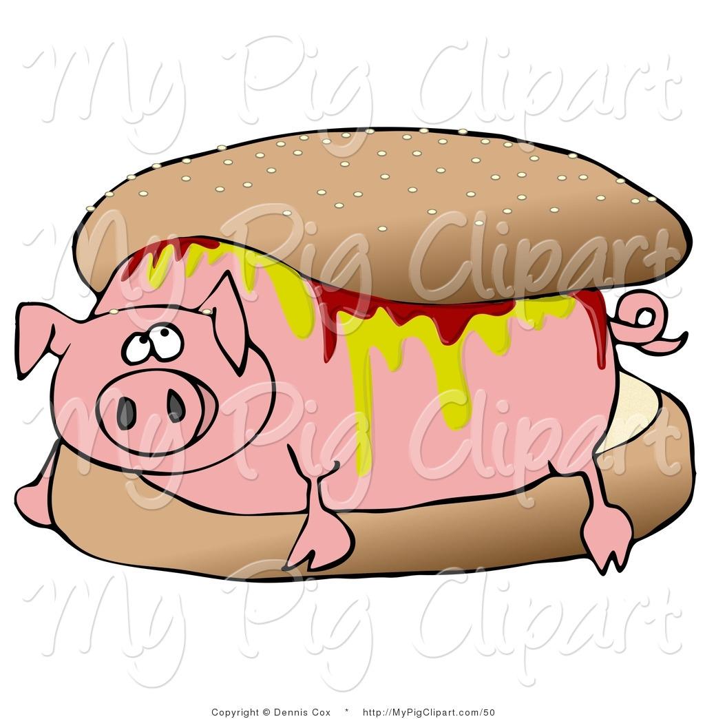 1024x1044 Roast Pig Clipart