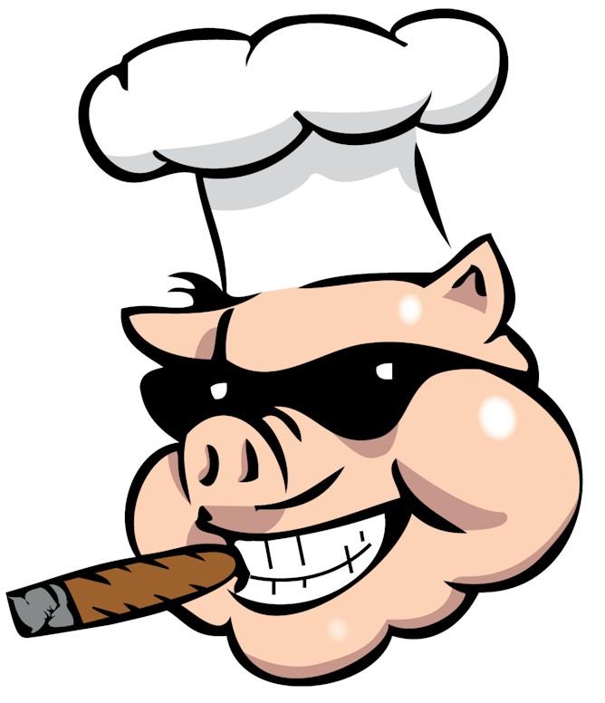 668x776 Bbq Pig Logo