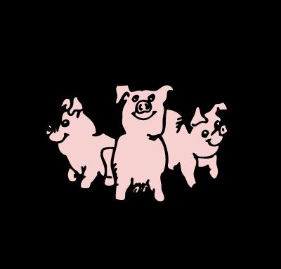 400x383 Li'L Pigs Bbq