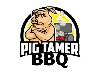 330x250 Pigtamer Bbq Logo Design