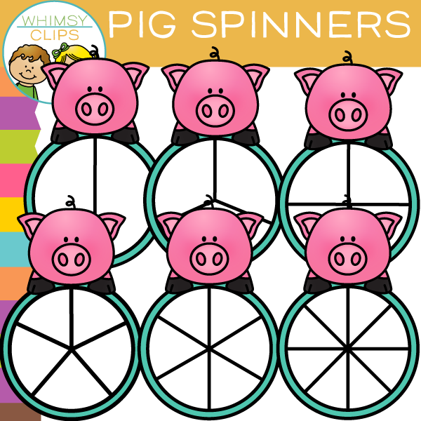 600x600 Pig Clip Art , Images Amp Illustrations Whimsy Clips