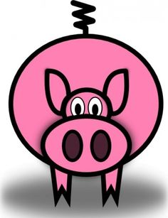 236x307 Cartoon Clipart Free Pig Cartoon Clipart Piggie Bank