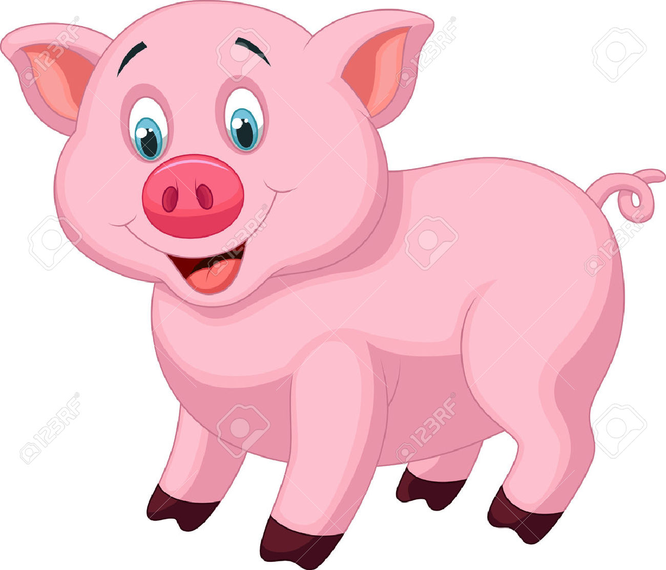 1300x1112 Cute Pig Pictures Cartoon Collection