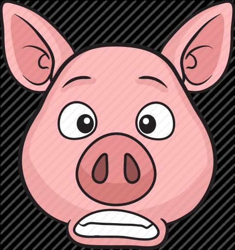 483x512 Animal, Cartoon, Cute, Emoji, Pig Icon Icon Search Engine