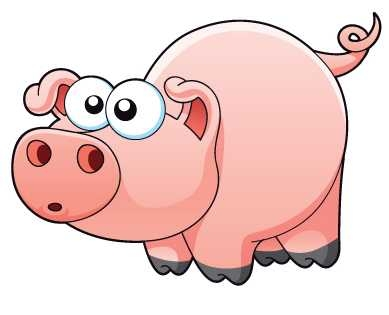 389x315 Pig In Mud Cartoon Clipart Panda
