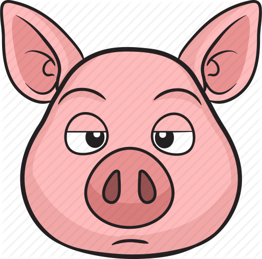 512x506 Animal, Cartoon, Cute, Emoji, Pig Icon Icon Search Engine