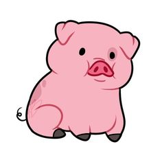 236x236 Animated Pigs Collection
